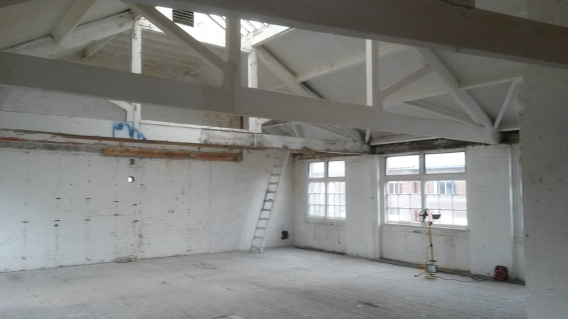 warehouse refurbishment